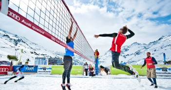 Snow Volleyball Tour 2015