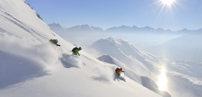 Freeride in St Anton am Arlberg